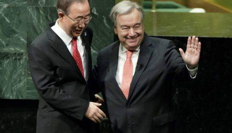 Investidura de António Guterres como nuevo secretario general de Naciones Unidas