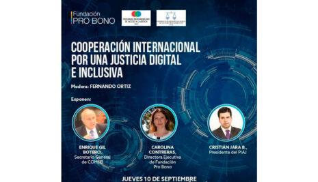 Cooperación Internacional por una Justicia Digital e Inclusiva