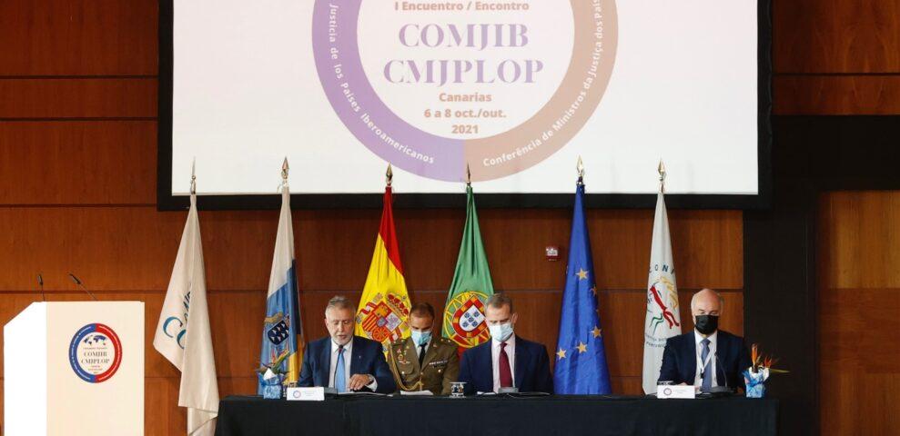 PRIMER ENCUENTRO DE MINISTROS DE JUSTICIA COMJIB – CMJPLOP